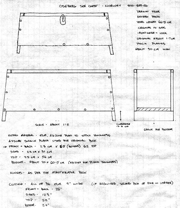 sea chest woodworking plans