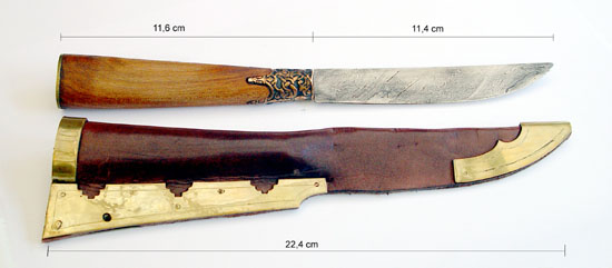 reconstructed knife
